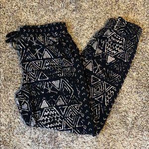 Mossimo Black/Tan Joggers